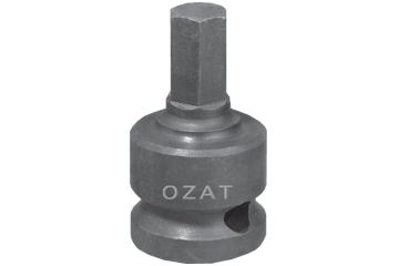 "1"" SQ. DR. X 1-1/16"" 27 MM HEX BIT SOCKET"