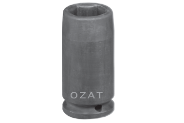 "3/4"" SQ. DR. X 1-1/16"" 27 MM DEEP WELL SOCKET"