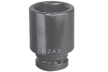 "2-1/2"" SQ. DR. X 7-3/8"" DEEP WELL SOCKET"