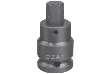 "1-1/2"" SQ. DR. X 27 MM 2 PC HEX BIT SOCKET"